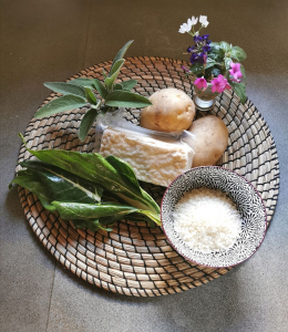 ingredienti per crocchette di tempeh