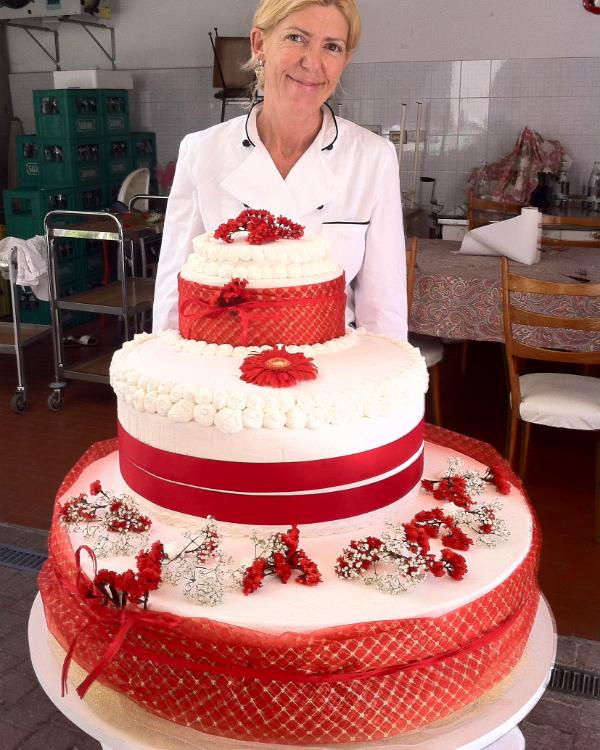 Barbara Bianchi veggie chef Hotel Luxor