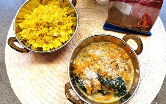 Dahl di lenticchie al cocco