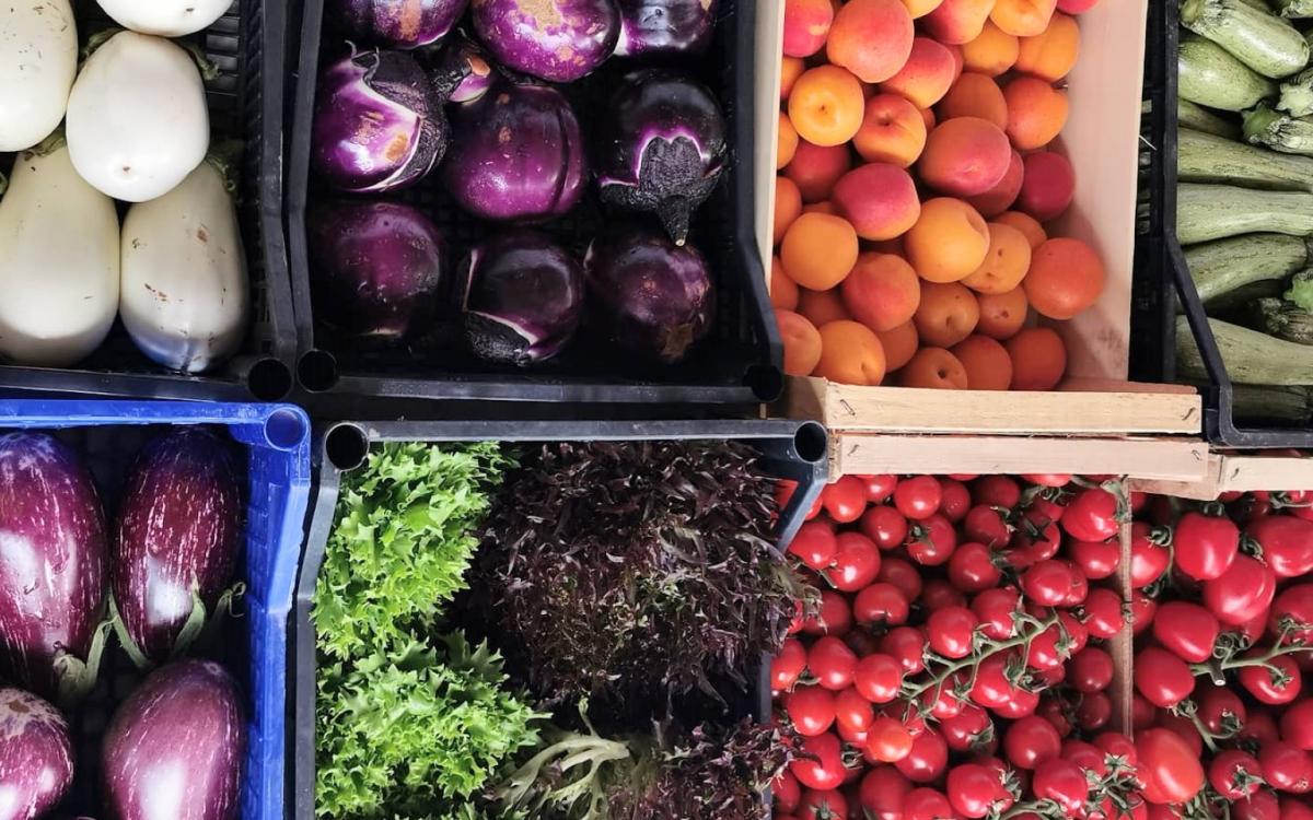 Cromoterapia in cucina e nella scelta vegan