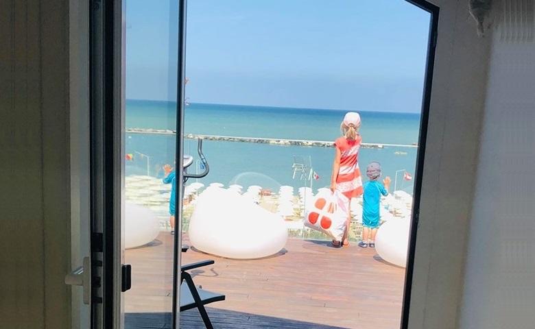 Fine Agosto a Igea Marina: il momento migliore per portare i bimbi al mare!